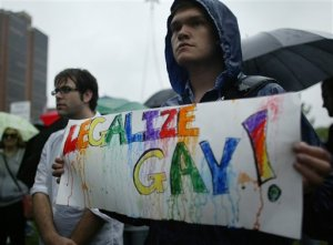 most of the countries that allow gay marriage are